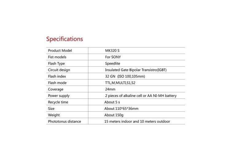 MEIKE MK320N HSS Master Control TTL Flash Speedlite for Nikon J1 J2 J3 D750 D610 D7100 D5100 D5200 D3300 Ect with Free Diffuser