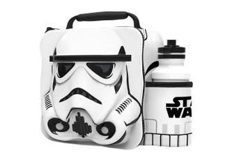 (Storn Trooper) - Storm Trooper (Star Wars) 3D Childrens Lunch Bag With Bottle