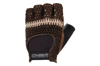 (Large, Brown) - Chiba Athletic Training Glove