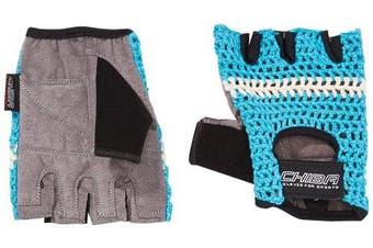 (Large, Turquoise) - Chiba Athletic Training Glove