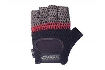 (X-Small, Black/Grey) - Chiba Athletic Training Glove