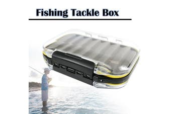 (Slotted Form) - The Elixir Advenature Waterprooof Fly Fishing Tackle Box Lure Lures Spoon Hook Bait Storage Box Case