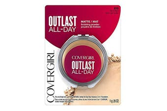(10ml, Fair to Light) - COVERGIRL Outlast All-Day Matte Finishing Powder, Fair to Light, 10ml (Packaging May Vary)