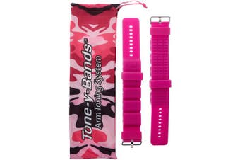 (0.5kg set, Pink) - Tone-y-Bands | Fully Adjustable Wearable Wrist Weights| Intensify Dance, Barre, Pilates, Bounce, Yoga, Cardio, Walking, and Home Exercise