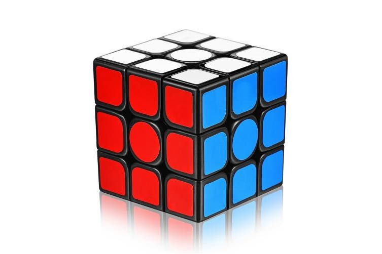Speed Cube with New Anti-pop Structure Smooth Puzzle Cube for Professional Players(sticker)
