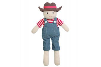 (Farm Boy) - Organic Farm Buddies Plush Toy - Farm Boy, 36cm
