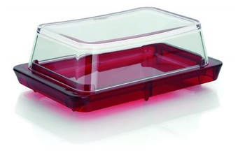 (Red) - Vitra Butter Dish Colour: Red