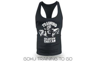 (Large) - New Training To Go Super Saiyan Stringer Vest
