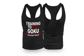 (Medium) - New Training To Beat Goku or Stringer/Racerback Vest