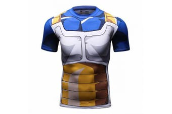 (XX-Large) - Cody Lundin Man's Print Man Steel Quick-drying Sport Compression T-shirt Exercise Top