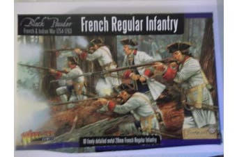 Warlord Games, French Regular Infantry, Black Powder Wargaming Miniatures