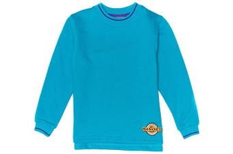 (C24IN, Turquoise) - Beaver Tipped Boy's Sweatshirt