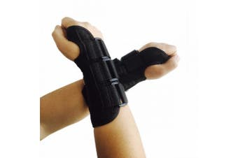(Small, One Pair) - CFR Wrist Support Braces Hand Wraps with Removable Steel Splint for Carpal Tunnel, Tendonitis, Wrist Pain & Sports Injuries UPS Post