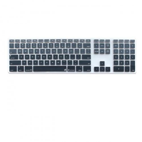 Deep Blue Gradient Masino Silicone Keyboard Cover Ultra Thin Keyboard Skin for Apple Full Size Keyboard with Numeric Keypad MB110LL//B