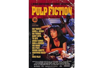 MOVIE POSTER FRIDGE MAGNET - PULP FICTION 3½ x 2½ inches Jumbo