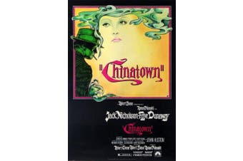 MOVIE POSTER FRIDGE MAGNET - CHINATOWN 3½ x 2½ inches Jumbo