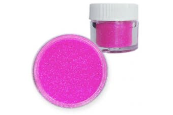 Bakell Hot Party Electric Pink Dazzler Dust Non Toxic 5g Jar Sparkle Decorating Glitter From Bakell - #1 Best Selling Decorating Dusts! Florescent