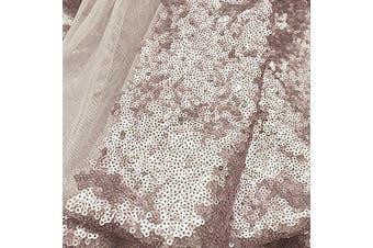 (33cm *150cm , Champagne Gold) - TRLYC Sequin Table Runner, 30cm by 150cm Sequin Tablecloths,Champane Gold