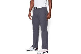 (38W x 32L, Stealth Gray/True Gray Heather) - Under Armour Men's Match Play Vented Pants