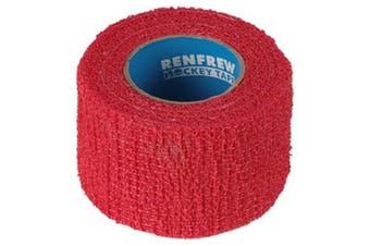 (Red) - Renfrew Scapa Hockey Stick Stretchrap Grip Tape, 1 Roll