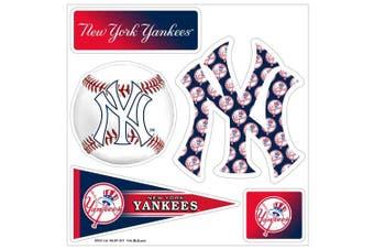 (New York Yankees) - MLB 5-Piece 3D Multi-Magnets (1 Sheet)