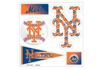 (New York Mets) - MLB 5-Piece 3D Multi-Magnets (1 Sheet)