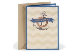 (Anchor) - Hallmark Birthday Greeting Card