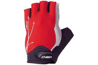 (Medium, Red - red) - Chiba Lady Gel Women's Cycling Gloves, Womens, Fahrradhandschuhe Lady Gel