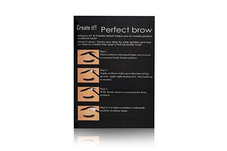 Cameo Perfect Brow Makeup Matte Dark Brown