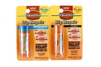 O'Keeffe's Original Lip Repair Stick and Cooling Lip Repair Stick