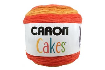 Caron Cake Self Striping Yarn 1 Ball Spice Cake 210mls