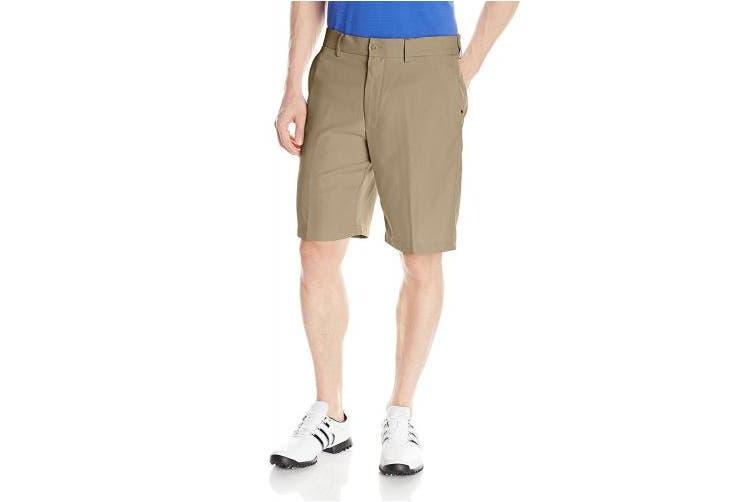 (44, Chinchilla) - PGA TOUR Men's Golf Performance Flat Front Expandable Waistband Short