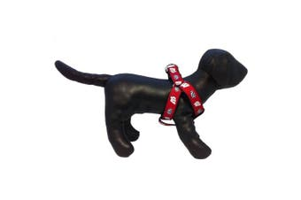 (Wisconsin Badgers) - NCAA Collegiate Dog Harness (Small)