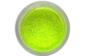 Citrus Yellow Electric Party Disco Dust Glitter 5g - Baking and Decorating Lustre Dusts from Bakell