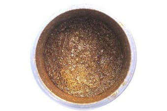 Gold Highlighter Metallic Dust 4 grammes - Baking and Decorating Lustre Dusts from Bakell