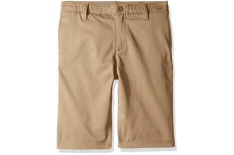 (20, Canvas (254)/Canvas) - Under Armour Boys' Match Play Polo Shorts