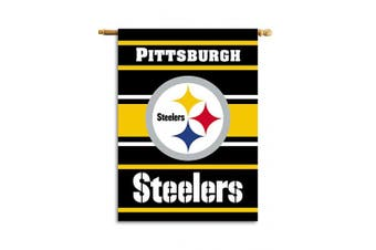 (Pittsburgh Steelers) - Fremont Die NFL 2-Sided House Banner, 70cm x 100cm