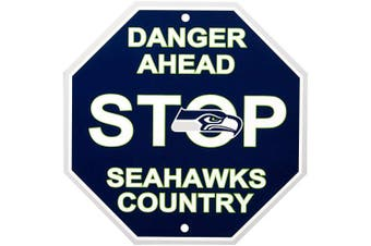 (Seattle Seahawks, One Size, Stop Sign) - Fremont Die NFL Arizona Cardinals Stop Sign