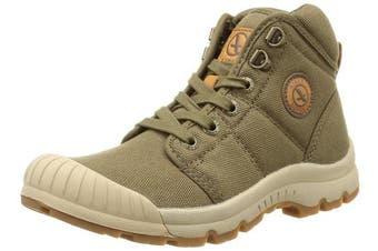 (7.5 UK, Green (Kaki)) - Aigle Tenere Light, Women's High Rise Hiking Shoes