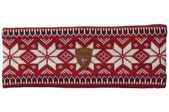 (One Size, Red) - Dale of Norway - Garmisch Headband