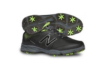 (12 4E US, Black/Green) - New Balance Men's NBG2004 Golf Shoe
