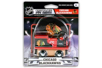 (Chicago Blackhawks) - MasterPieces NHL Chicago Blackhawks Toy Train