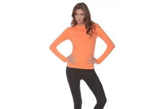 (X-Large, Tangerine) - BloqUV Women's 24/7 Athletic Top