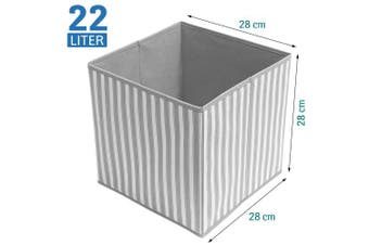 Tatkraft Key Foldable Storage Box Organiser 28X28X28cm