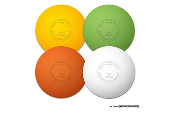 Champro NOCSAE Lacrosse Balls; Gold Nocsae Lacrosse Balls, 12