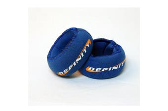 Definity by CAP Barbell Wrist Weights, 0.5kg Pair (.5 lb Each)