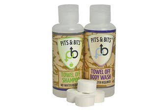 Pits & Bits Small Wash Kit - Transparent