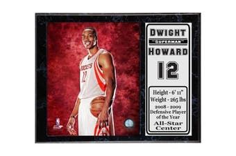 Encore Select 522-11 NBA Houston Rockets Dwight Howard Stat Plaque with Photo, 30cm by 38cm