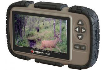 Stealth Cam SD Card Reader and Viewer with 11cm LCD Screen