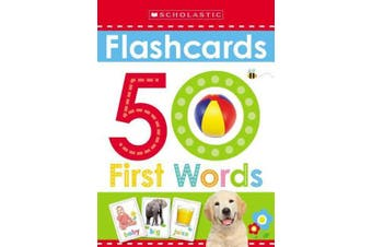 50 First Words Flashcards: Scholastic Early Learners (Flashcards) (Scholastic Early Learners)